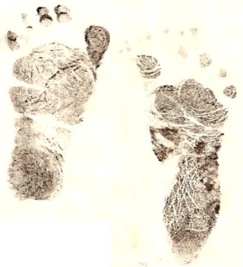 click on my preemie footprints to return to the welcome page